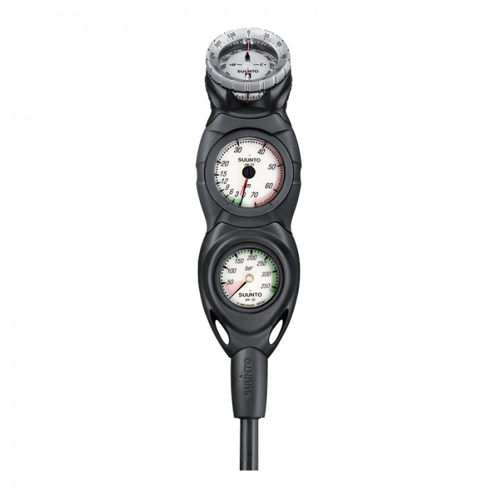 in line Pressure, Depth And Compass Console - Scuba Diving Superstore